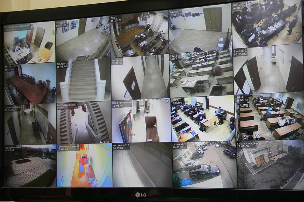 Установка видеонаблюдения в г. Владимир и области