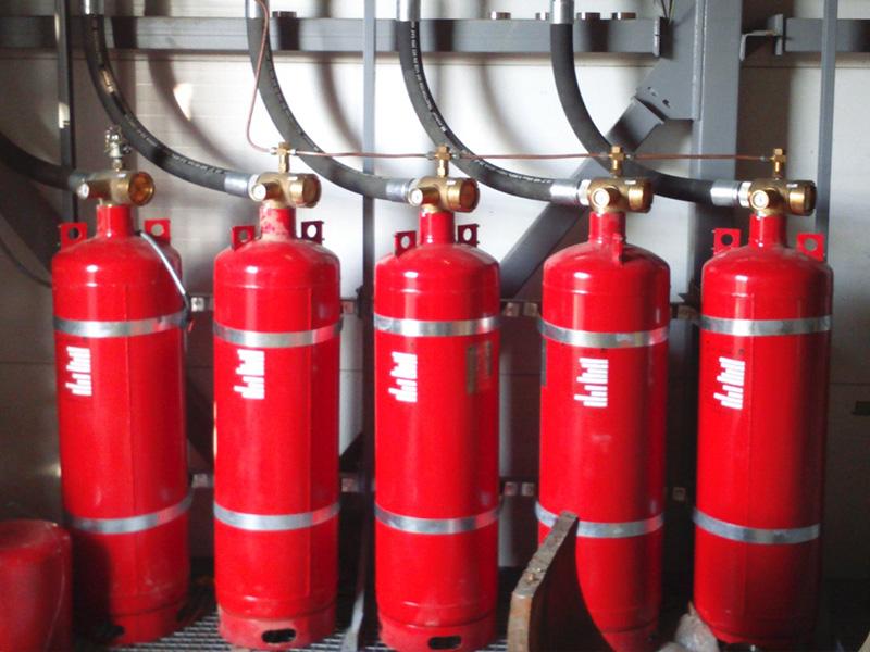 Системы газового пожаротушения: принцип работы, требования, применение